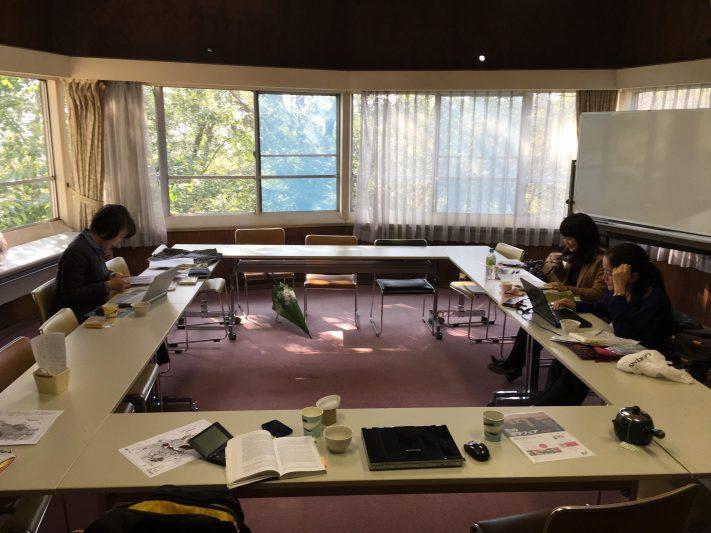 訳者、編集者で合宿会議もおこなった。